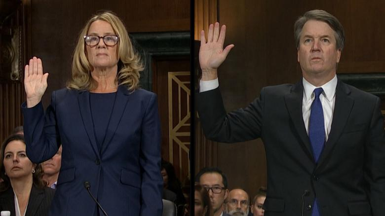Relive the 'she said, he said' of the Kavanaugh hearing