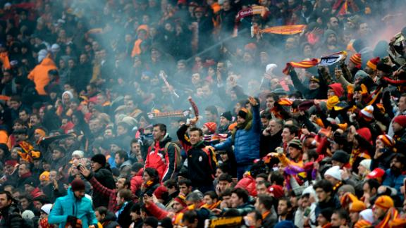 The Turk Telekom Stadium is home to Turkish giants Galatasaray. The fans here don