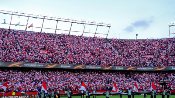 With a capacity of 43,883, the Ramon Sanchez Pizjuan cannot compare to the size of some stadiums in La Liga but its atmosphere can. The home fans are a big factor behind Sevilla