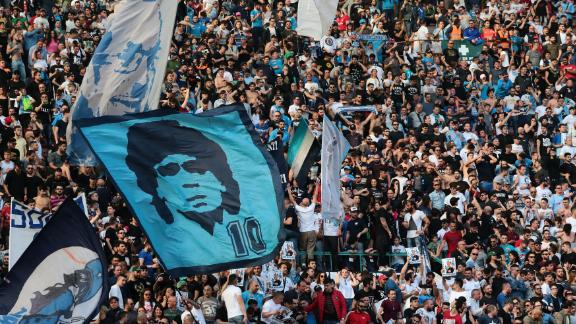 The Stadio San Paolo has one of the most raucous atmospheres in Serie A. Large flags and constant singing are common place in Naples, making this iconic stadium rock during home matches.