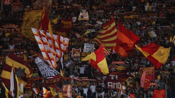 The Stadio Olimpico in Rome is a gladiatorial like venue. With a capacity of 72,698, the stadium is home to both Roma and Lazio. The fiery atmosphere is magnified by the traditional surroundings which helps produce a caldron of noise.