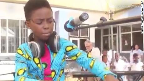 Meet the 10-year-old DJ from Ghana who wowed world leaders