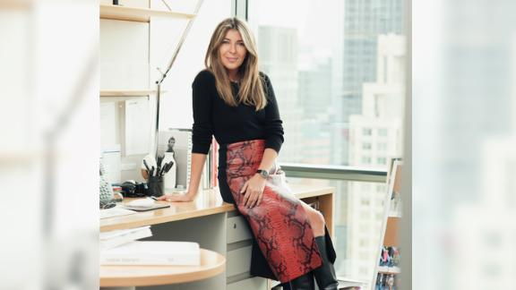Nina Garcia is the editor-in-chief of Elle magazine.