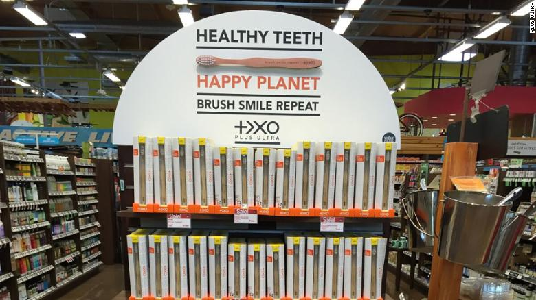 Plus Ultra bamboo toothbrushes are sold in 320 retail stores including Whole Foods and Amazon.