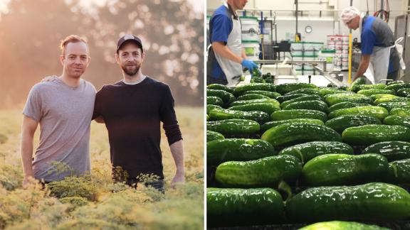 Brothers Bob and Joe McClure started their pickle company McClure's Pickles in Troy, Michigan, in 2006.