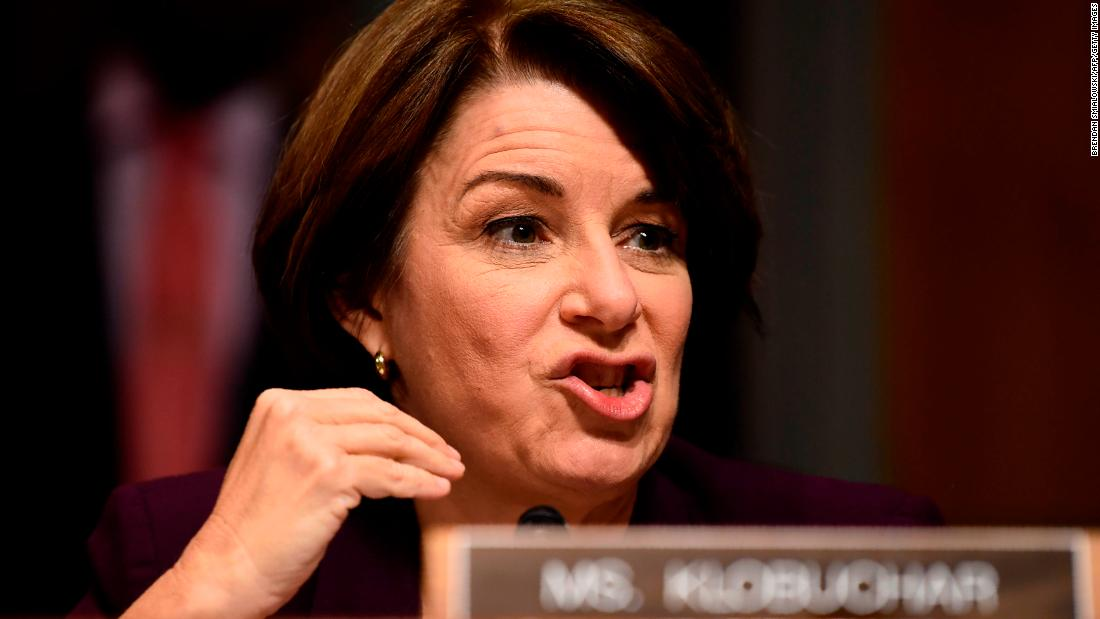Klobuchar: I was 'really stunned' by Kavanaugh's behavior at hearing