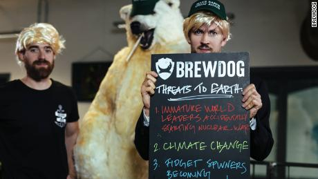BrewDog has protested Trump's decision to pull the US out of the Paris Agreement.