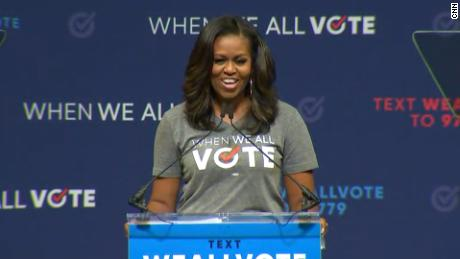 47dc6e13 Michelle Obama: I am tired of daily chaos - CNN Video