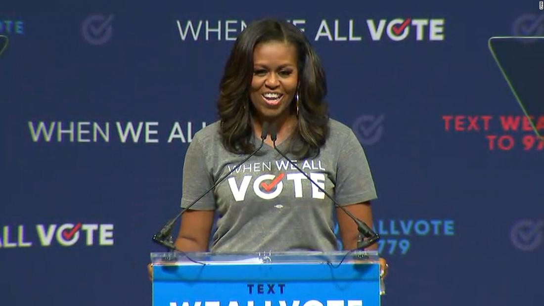 Michelle Obama: 'When they go low, we go high' slogan 'absolutely' still stands
