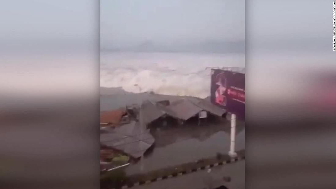Deadly tsunami hits Indonesian island of Sulawesi