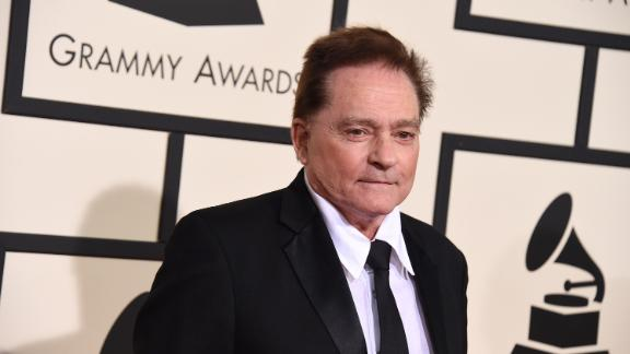 Marty Balin arrives at the 58th annual Grammy Awards at the Staples Center on Monday, Feb. 15, 2016, in Los Angeles.