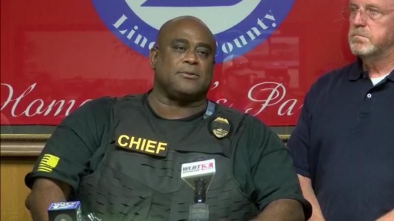 Listen to police chief's emotional speech