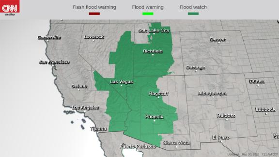 Flood watches in effect ahead of Hurricane Rosa