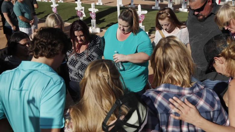 Survivors mark 1 year since Las Vegas shooting
