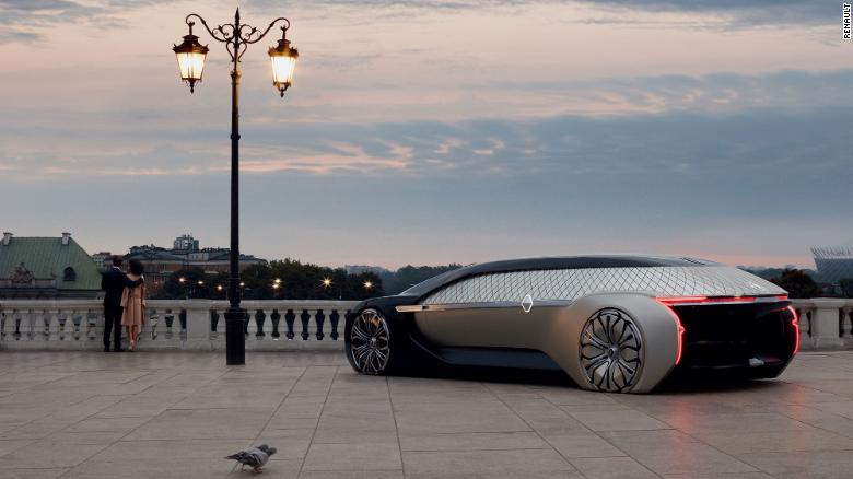 Renault S New Concept Car Is Opulent Self Driving Luxury Paris