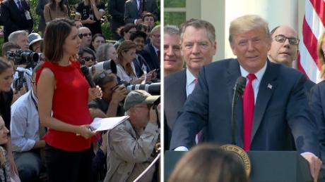 See Trump's tense exchange with ABC reporter
