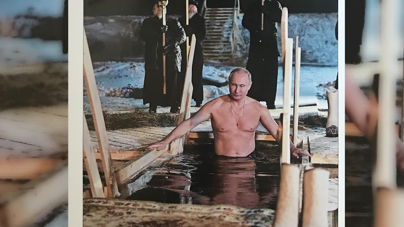 Vladimir Putin Plays Hockey And Cuddles A Puppy In New 2019 Calendars Cnn