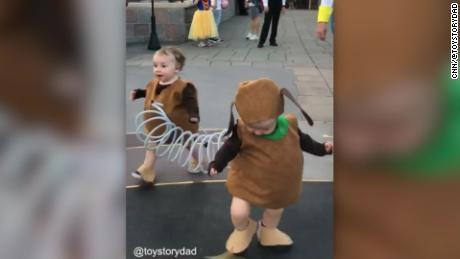 Dad Takes Toy Story Costume To The Next Level Cnn Video