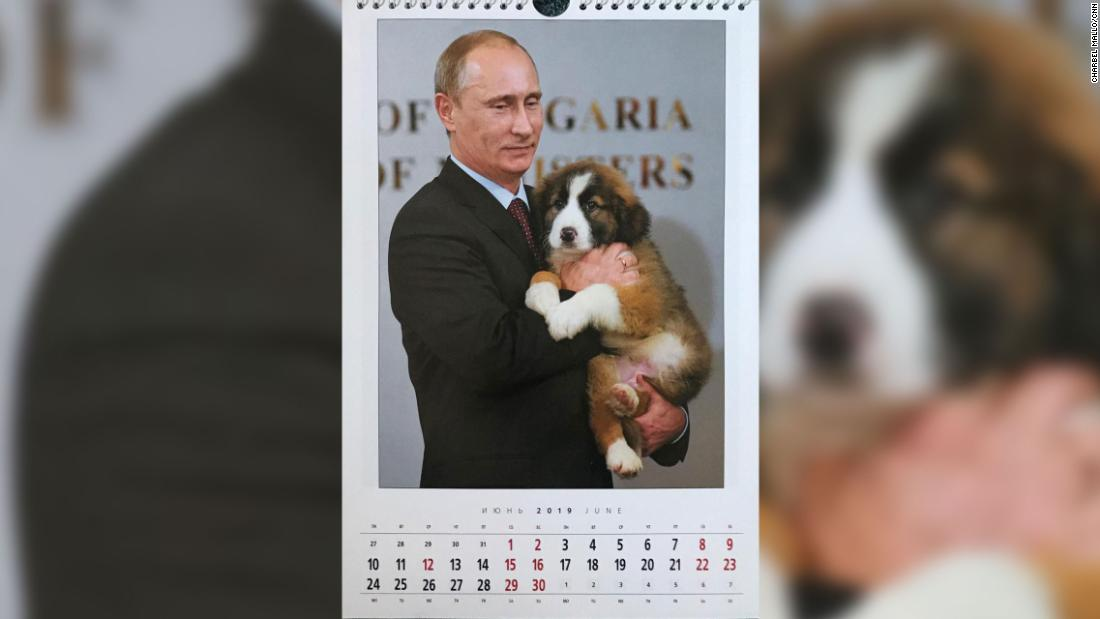 June is all about the adorable puppy with the Russian President as animal lover.