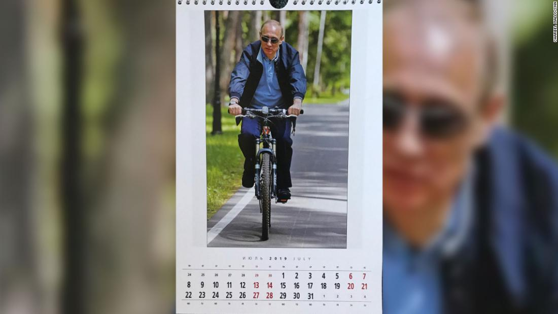 For July, it's back to the active, outdoorsy leader.