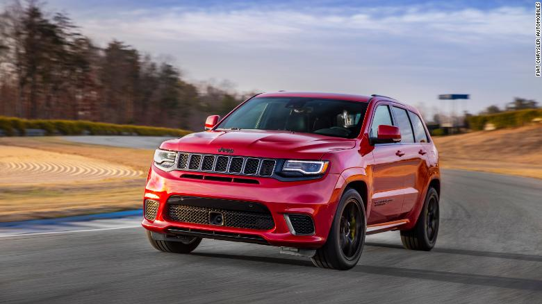 Jeep Wants You To Take This Grand Cherokee On The Racetrack