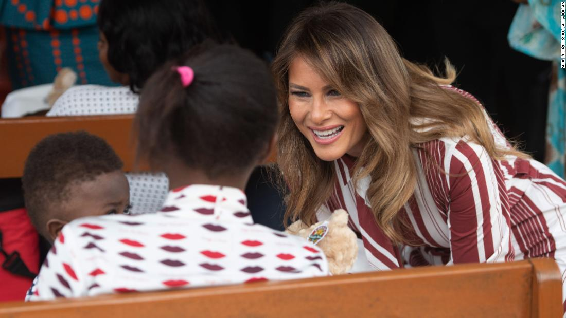 I'm glad Melania is in Africa, but her trip won't change anything – Trending Stuff