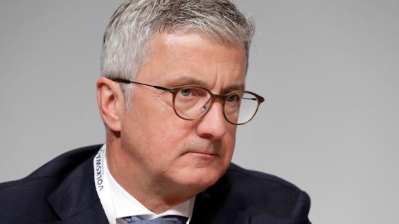 Audi CEO Rupert Stadler attends a shareholders