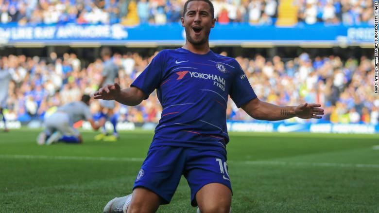 Eden Hazard joined Chelsea in June 2012.
