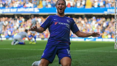Hazard has enjoyed a stellar season with Chelsea in the Premier League.