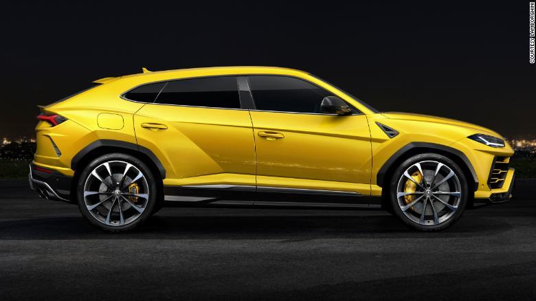 Lamborghini\u0027s new Urus SUV is badass