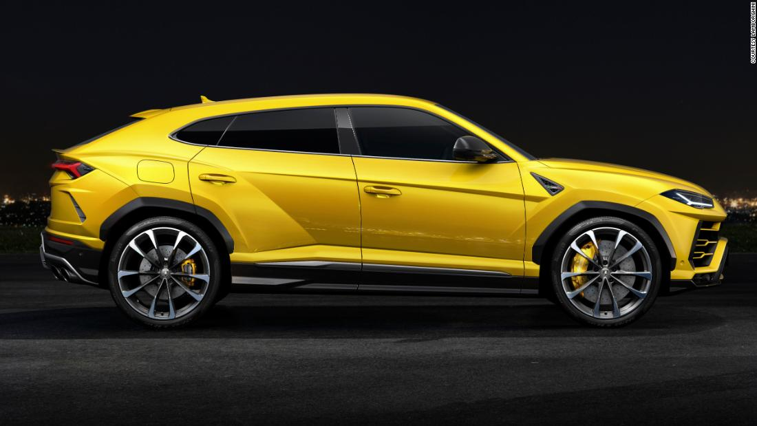 Lamborghini Urus Looks like an SUV, drives like a supercar