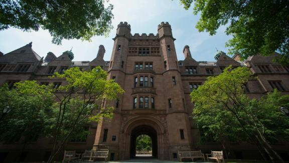 Yale University, one of the schools named in the admissions scandal, saw its acceptance rate dip to 5.9% this year.