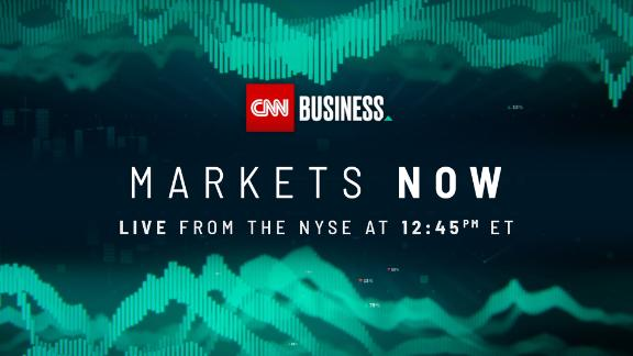 """""""Markets Now"""" streams live from the NYSE every Wedesday at 12:45 pm E.T."""