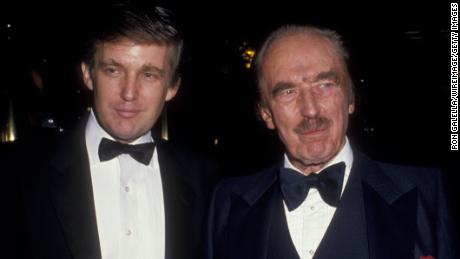 Image result for photos of Donald and Fred Trump
