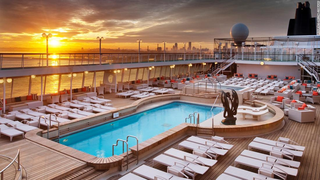 A luxury cruise where grownups can have fun