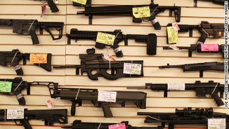 Gun deaths in US reach highest level in nearly 40 years, CDC data reveal