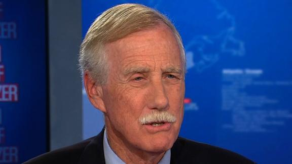 Sen. Angus King on The Situation Room 10/2.