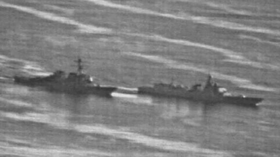 "A US Navy ship had an ""unsafe"" interaction with a Chinese warship September 30 while the US vessel was conducting a freedom of navigation operation near the disputed Spratly Islands in the South China Sea, causing the US ship to maneuver ""to prevent a collision,"" according to US defense officials."
