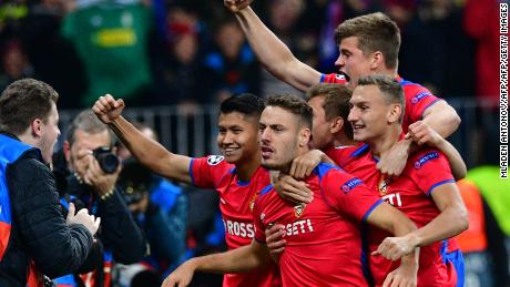 Champions League: Holders Real Madrid stunned by CSKA Moscow
