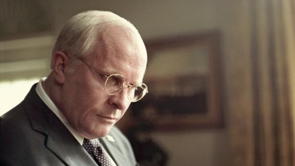 "Christian Bale as Dick Cheney in Adam McKay's ""Vice."""