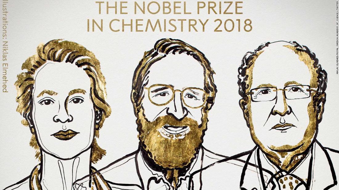 Nobel Prize in Chemistry awarded for pioneering work in evolutionary science