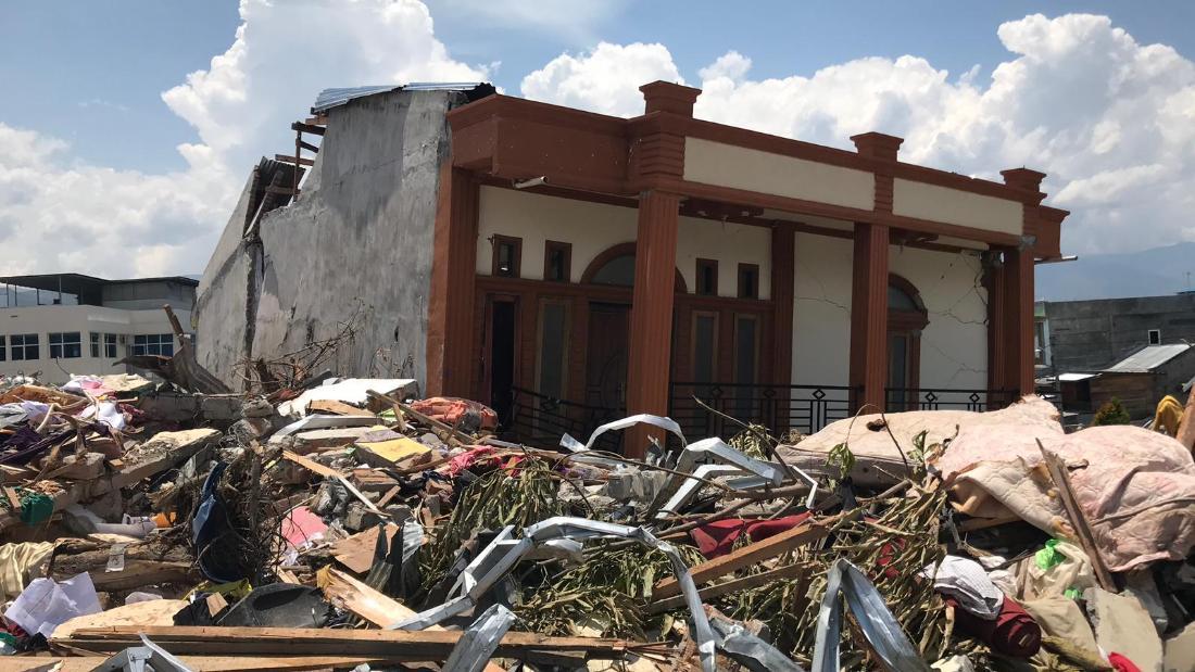 Torrents of 'liquid soil' washed away buildings – Trending Stuff