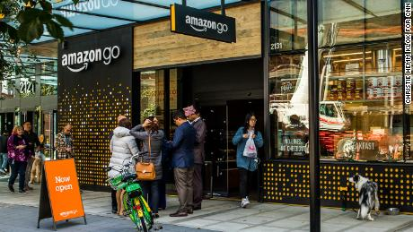 Amazon Go: No cashiers, hundreds of cameras, and lots of