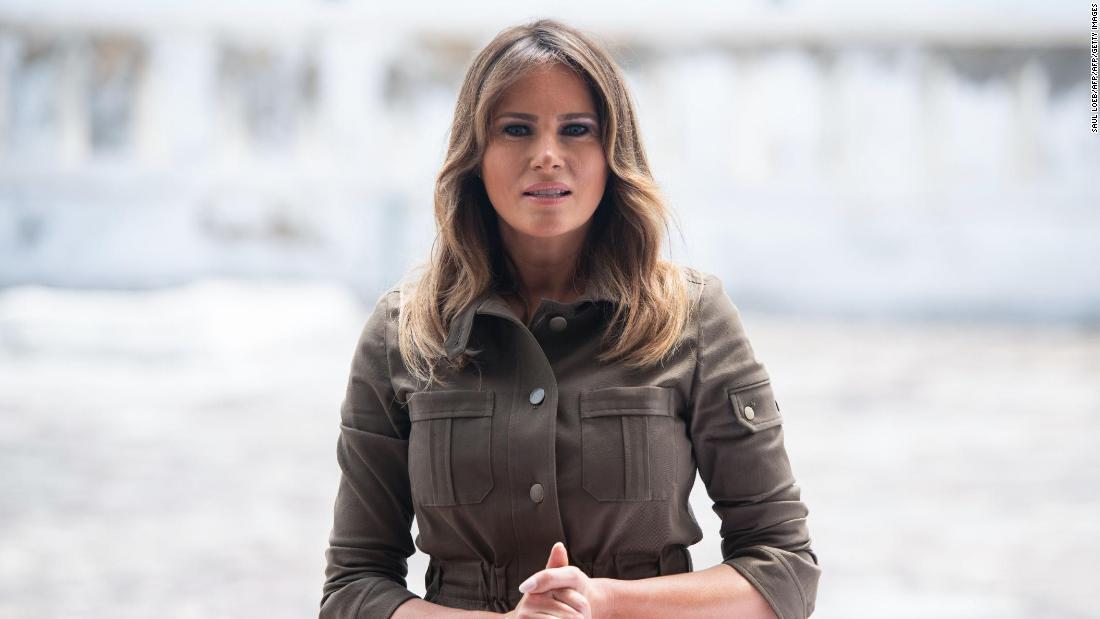 Melania Trump says girls people 'need proof' if they are saying they're victims thumbnail