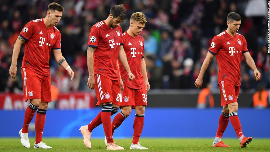 Bayern Munich were held to a 1-1 draw at home to Ajax after Mats Hummels' early strike was canceled out by 20-year-old Noussair Mazraoui. It leaves the defending German champions second in Group E behind their Dutch opponents.