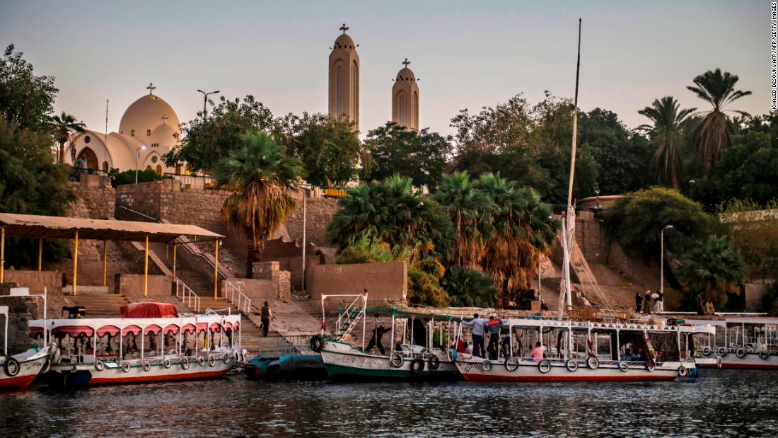 The vast majority of Egypt's population live along the banks of the Nile and around its delta.