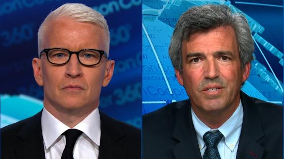 James Roche, Brett Kavanaugh's Yale freshman roommate, talks to Anderson Cooper on 10/3.
