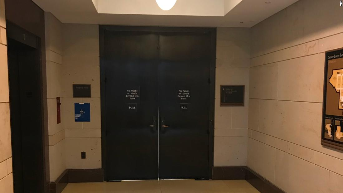 The single copy of the FBI's Kavanaugh report is behind closed doors. Here's what senators have to do to see it