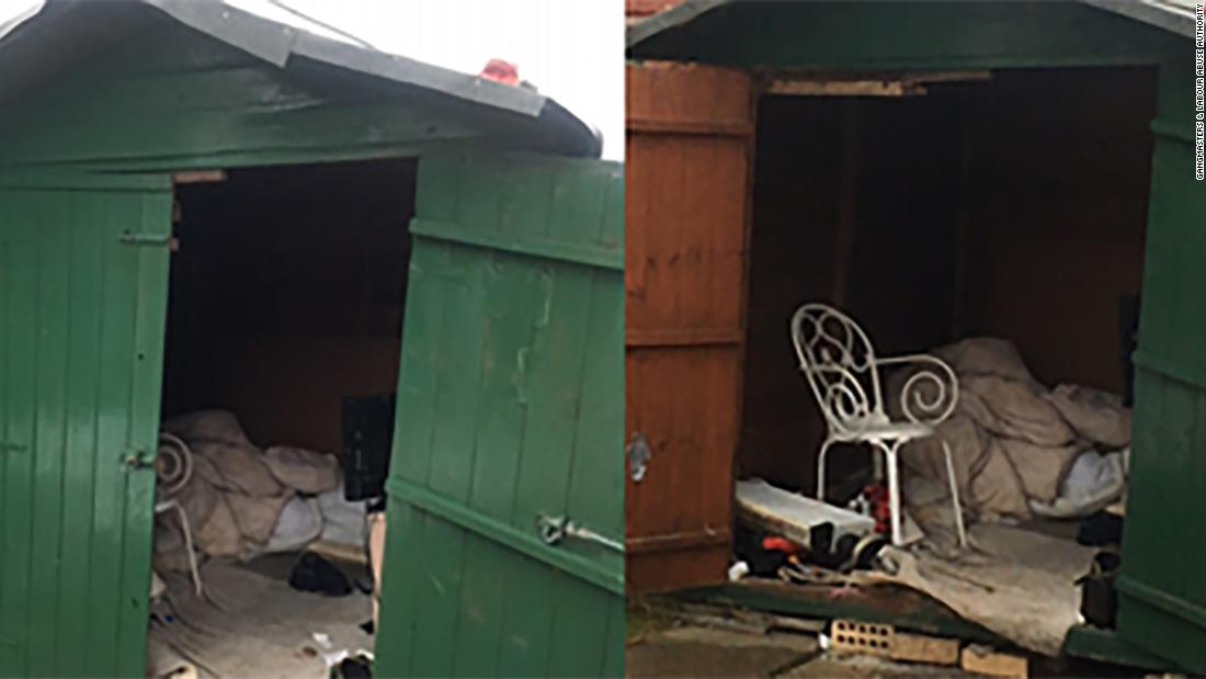 UK man rescued after 'living in six-foot shed for 40 years'