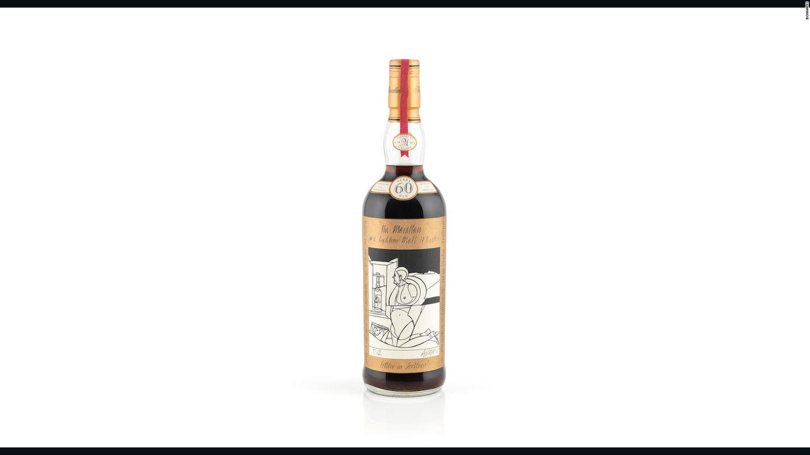 Bottle Of Whisky Sold For World Record 11 Million